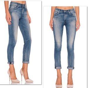 Agolde camile retro slim jeans high rise